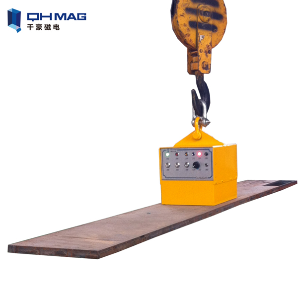 Long Cycle Time 500kg 1ton 2ton 3ton battery rechargeable Magnetic Lifter, rechargeable electromagnet lifter for 1000 kg steel plate