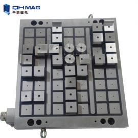 Electro permanent magnetic table for CNC milling machine
