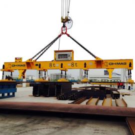 Steel plate Lifting Magnet 8ton Electro permanent magnetic lifter for single piece of magnetic plate holding